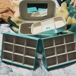 At Home jewelry box and 2 jewelry organizers